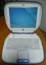 iBook open